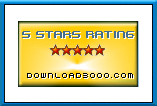 Awarded 5 star on Download3000.com